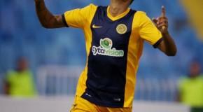 Χαρούμενος για το πρώτο του γκολ ο Ντανιελζίνιο