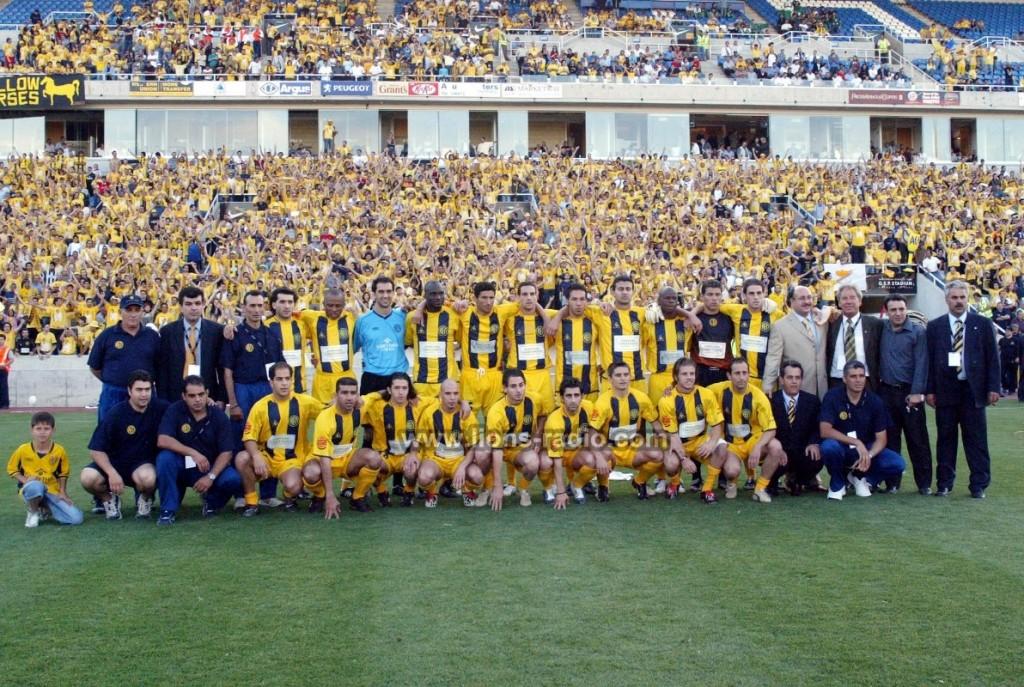 Telikos Kipellou AEL aek 2004