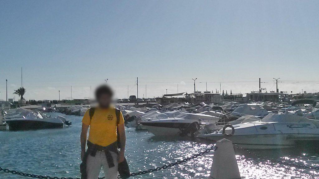 Στο λιμάνι του Φάρο στην Πορτογαλία.