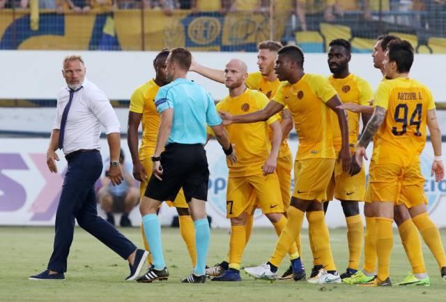 Τιμωρία από την UEFA